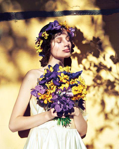 夏の花で彩る♡幸せブライズフラワー