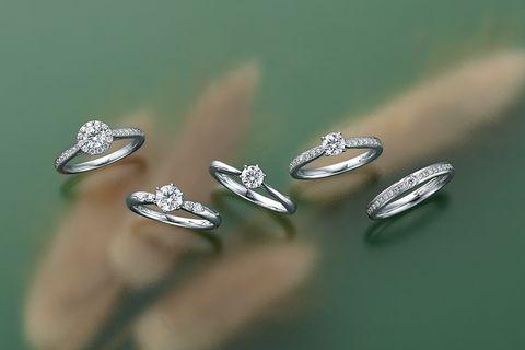 ラザール ダイヤモンドのエンゲージ&マリッジリング