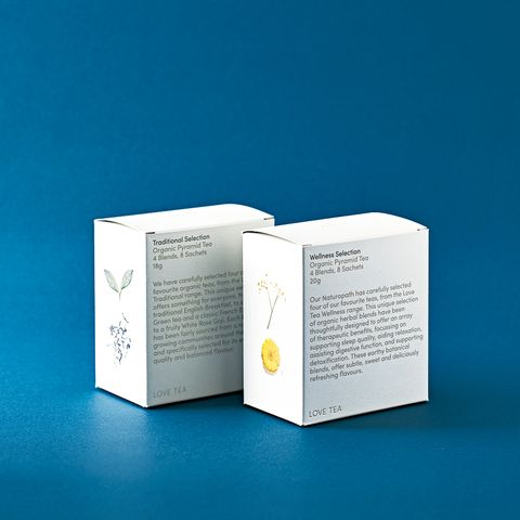 オーストラリアのオーガニック・ティーブランド『love tea』の「セレクションボックス」