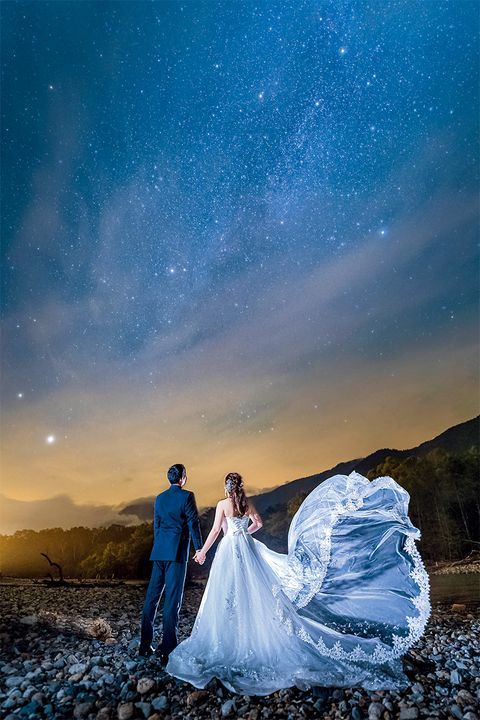 右近倫太郎さんによる夜空ショット