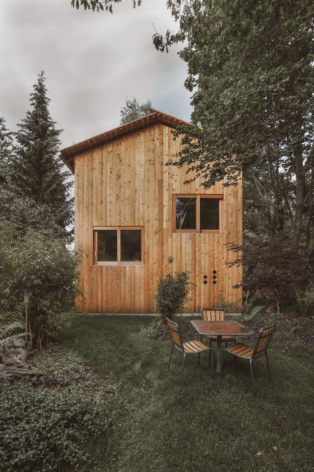 the small house, nendaz, di lionel ballmer