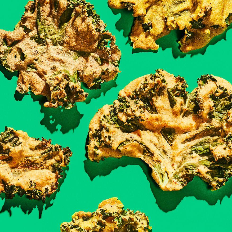 Crispy Kale Chips, 4 Ways