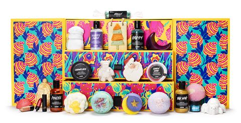 Calendario dell'avvento di Lush Beauty