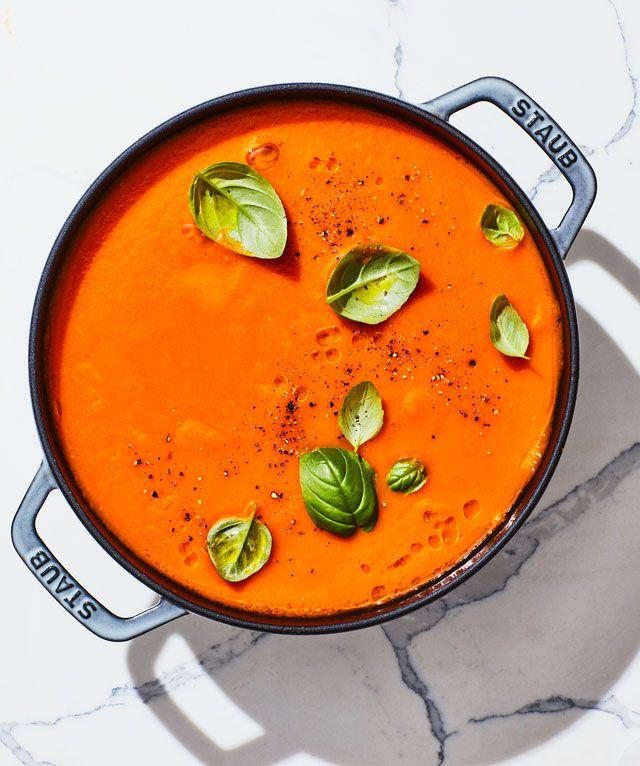 Tomato- Basil Soup