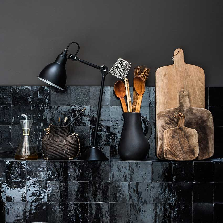 How to use... black in a kitchen