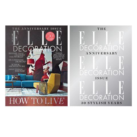 ELLE Decoration UK June 2019 covers