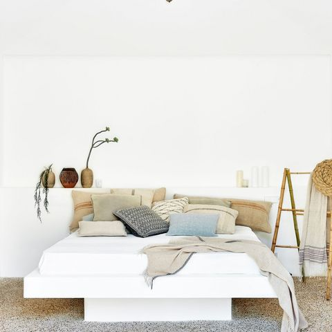 White Bedroom: Cover House July 2017: Mallorca