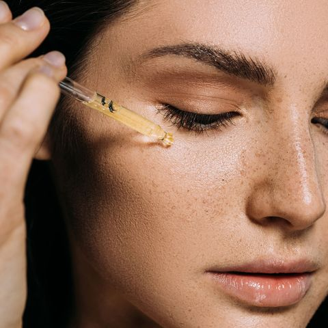 Face, Eyebrow, Skin, Nose, Eyelash, Eye, Cheek, Beauty, Head, Close-up,