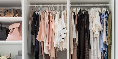 91b146eb9aa3c7 22 Best Closet Organization Ideas - How to Organize Your Closet