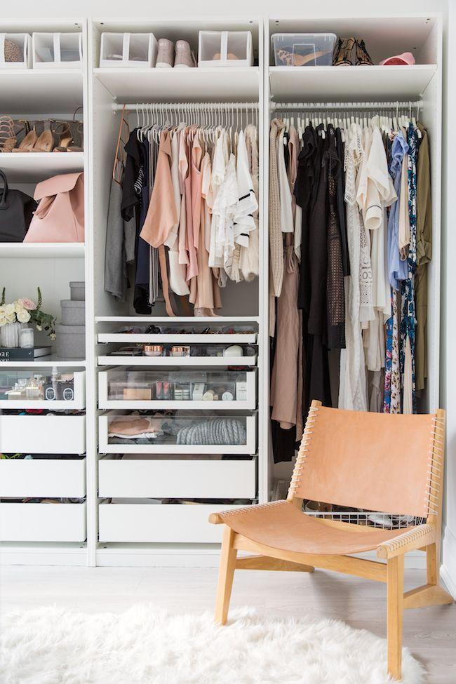 Courtesy Of Lark U0026 Linen. A Clean, Organized Closet ...