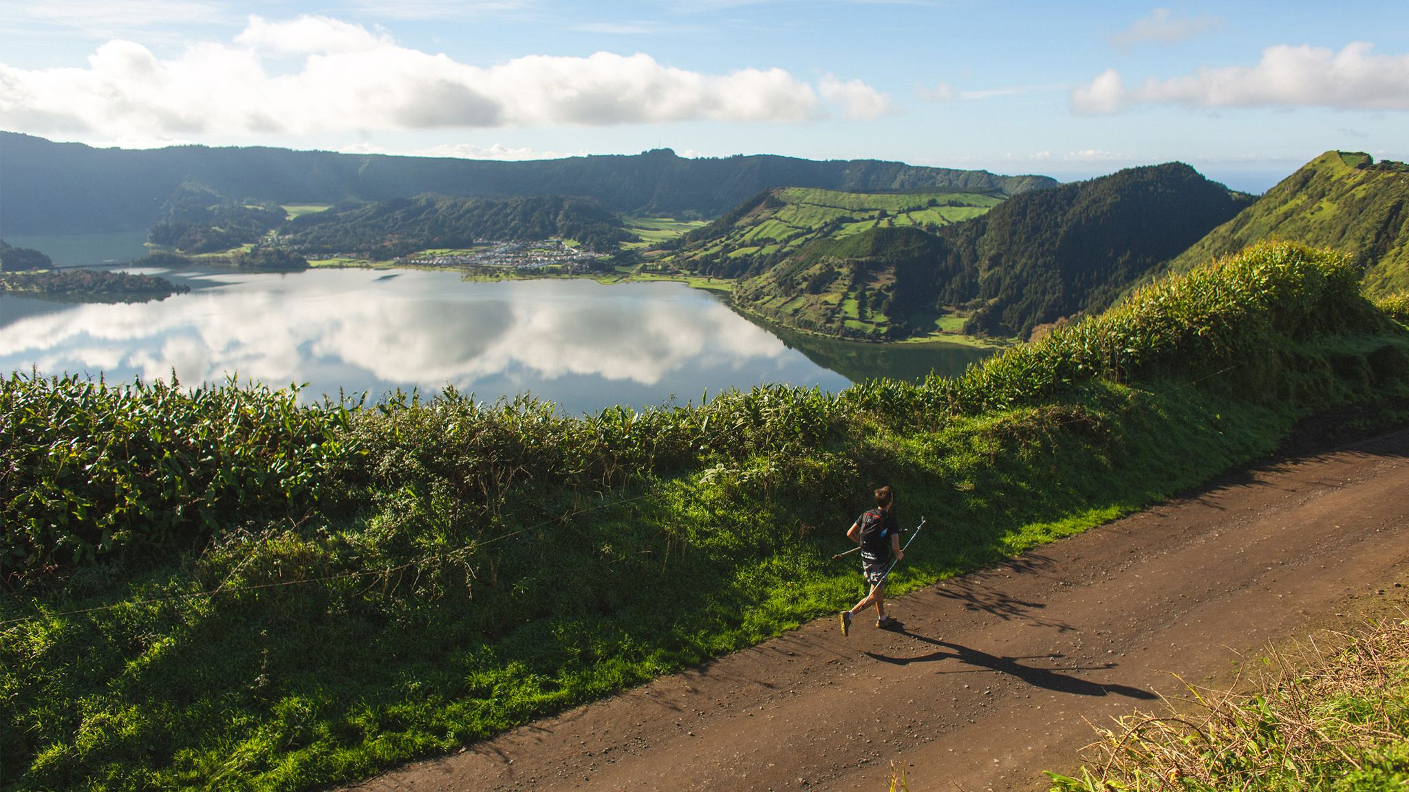 "Trail By Fire: Welcome to The Tribe Volcanoes Half-Marathon, ""The World's Toughest Island Race"""