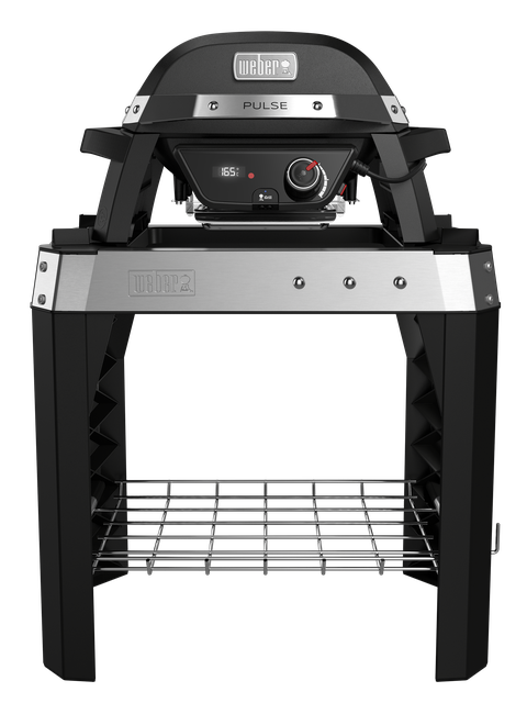 Weber Pulse 1000 Electric BBQ with Stand, Black - John Lewis