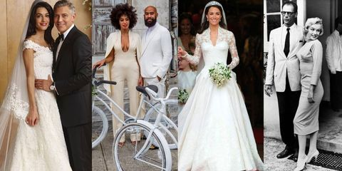 50 Iconic Celebrity Wedding Dresses - Most Memorable Wedding Gowns ...