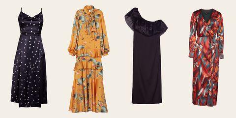 Clothing, Dress, Day dress, Fashion, Vintage clothing, Formal wear, Costume design, Shoulder, Sleeve, Fashion design,