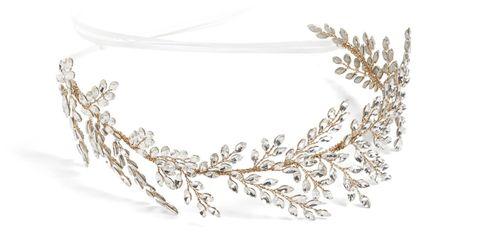 Headpiece, Fashion accessory, Hair accessory, Jewellery, Body jewelry, Crown, Headgear, Headband, Necklace, Chain,