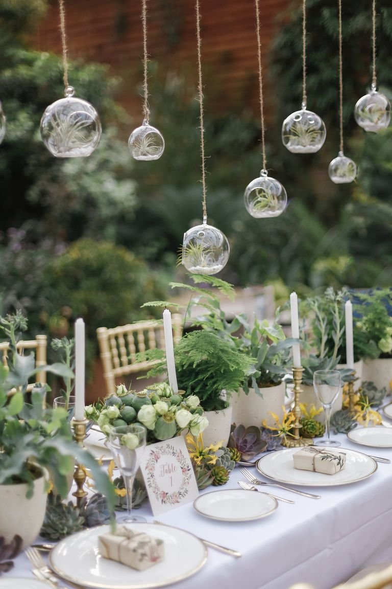 wedding centerpiecees: 15 Best Greenery Wedding Centerpieces