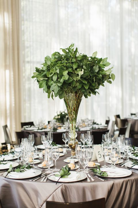 15 best greenery wedding centerpieces green centerpieces for wedding wedding centerpieces greenery junglespirit Choice Image