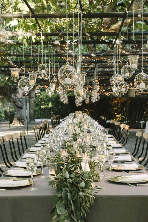 15 best greenery wedding centerpieces green centerpieces for wedding wedding centerpieces greenery junglespirit Image collections