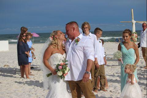 groom saves drowning teen