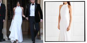 Meghan markle second wedding dress stella maccartney