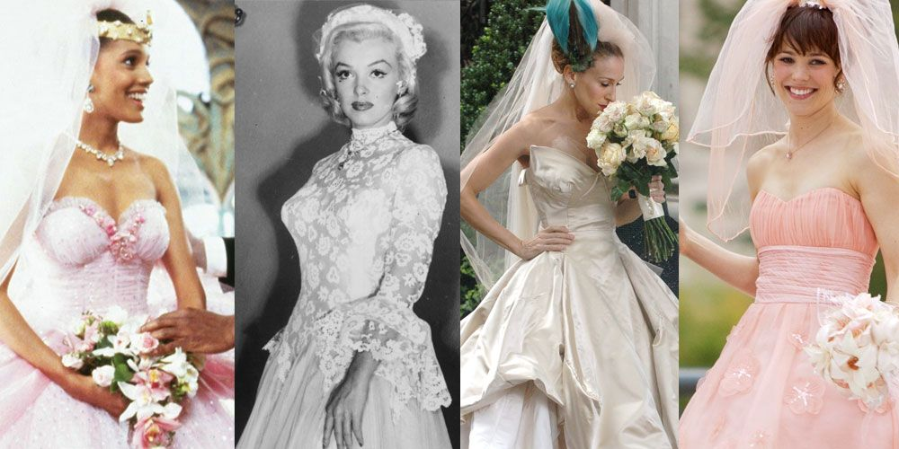The Best Wedding Dresses In Films And Movies Sigh Celebrity