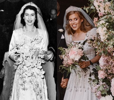 How Princess Beatrice S Royal Wedding Compared To Queen Elizabeth S