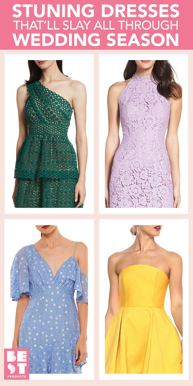 10 Best Wedding Guest Dresses for Spring 2018 - Stylish Dresses to ...