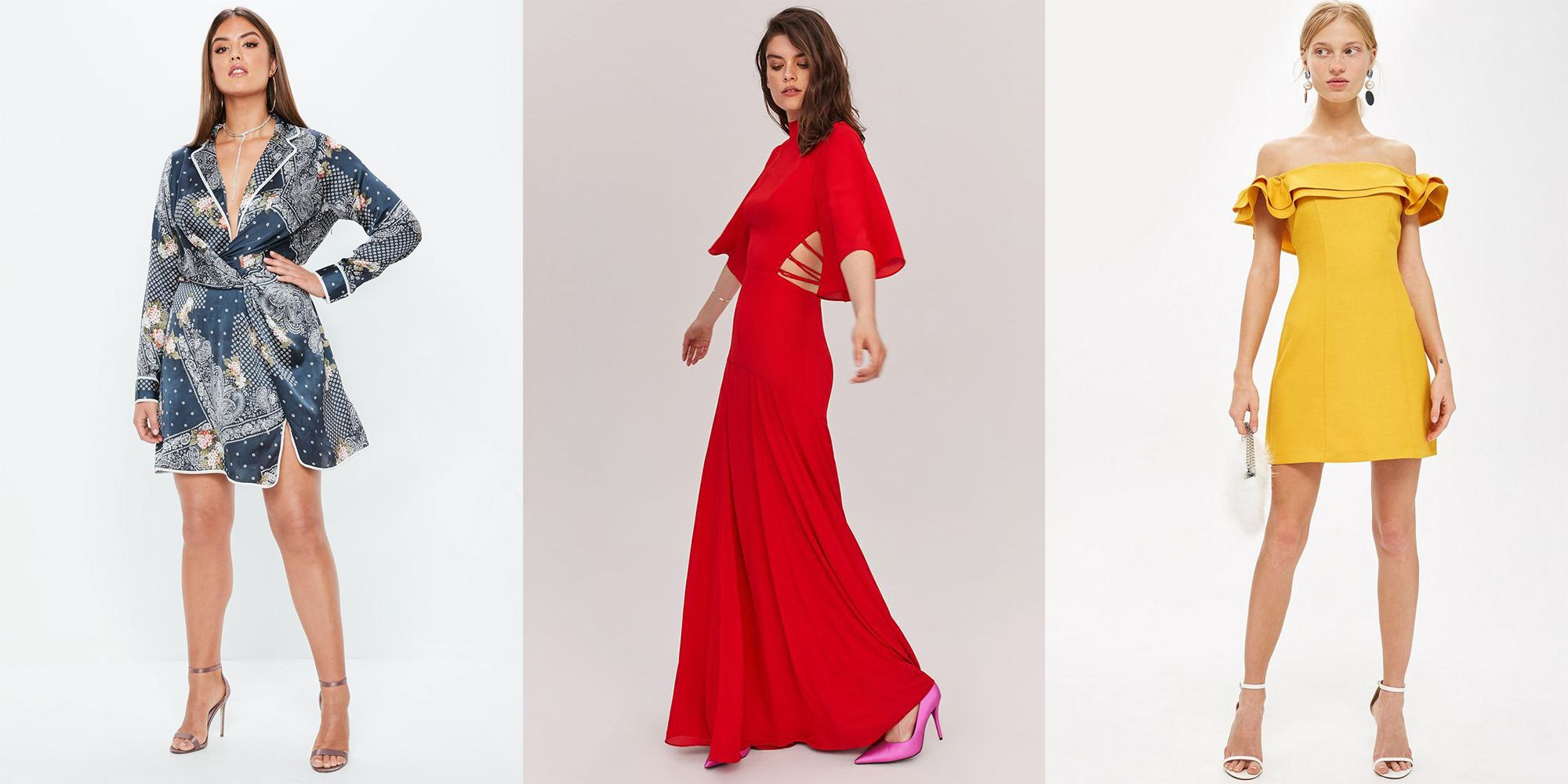 Long Wedding Guest Dresses for Spring