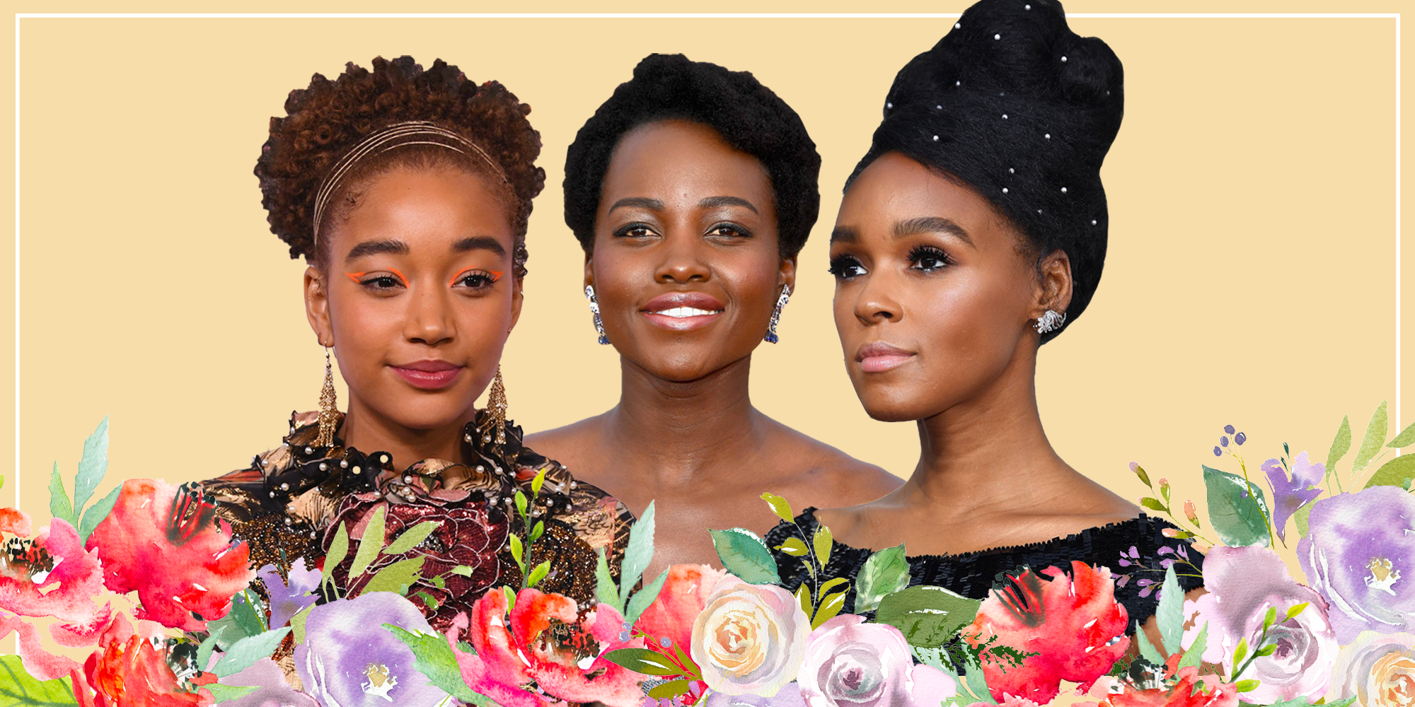 20 Natural Hairstyles to Wear at a Wedding