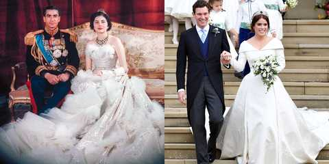 The Best Royal Wedding Dresses Of The Last 70 Years Royal Wedding
