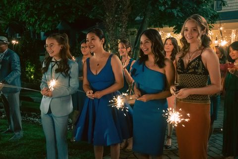 to all the boys ive loved before 3  anna cathcart as kitty covey, lana condor as lara jean covey, janel parrish as margot covey,  in to all the boys ive loved before 3 cr katie yu  netflix © 2020
