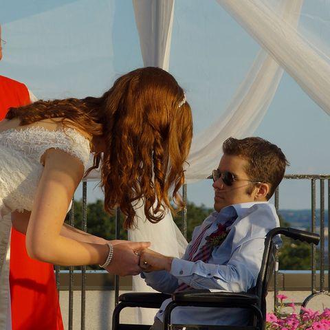 sarah mcbride, andy cray wedding