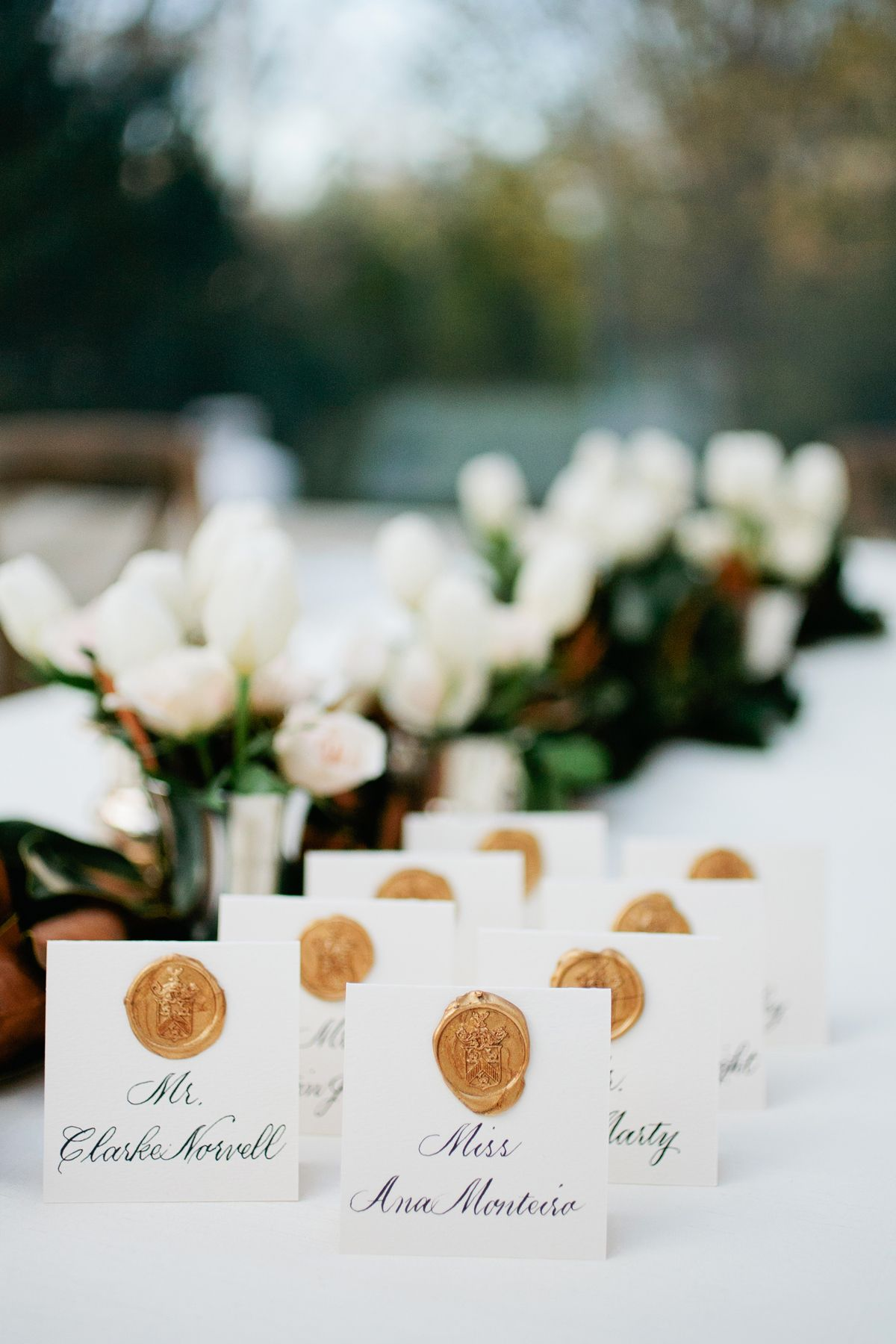 10 Best Wedding Place Cards - Wedding Decoration Ideas