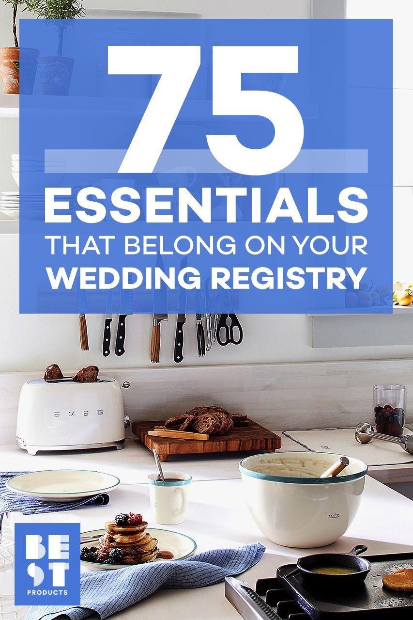 50 Wedding Registry Ideas For 2018 Wedding Gift Registry Must Haves