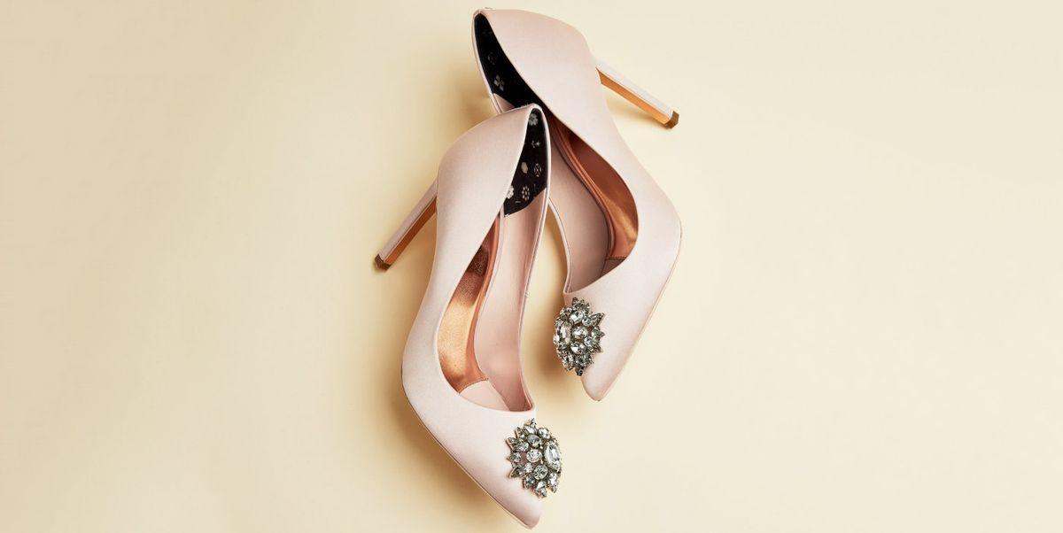 Dark Blue Wedding Flats Wedding Shoes Low By Thecrystalslipper