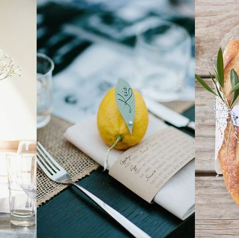 Wedding Table Decorations You Will Love If You Re A Foodie