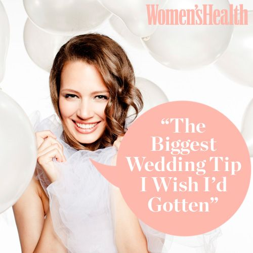 """The Biggest Wedding Tip I Wish I'd Gotten"""