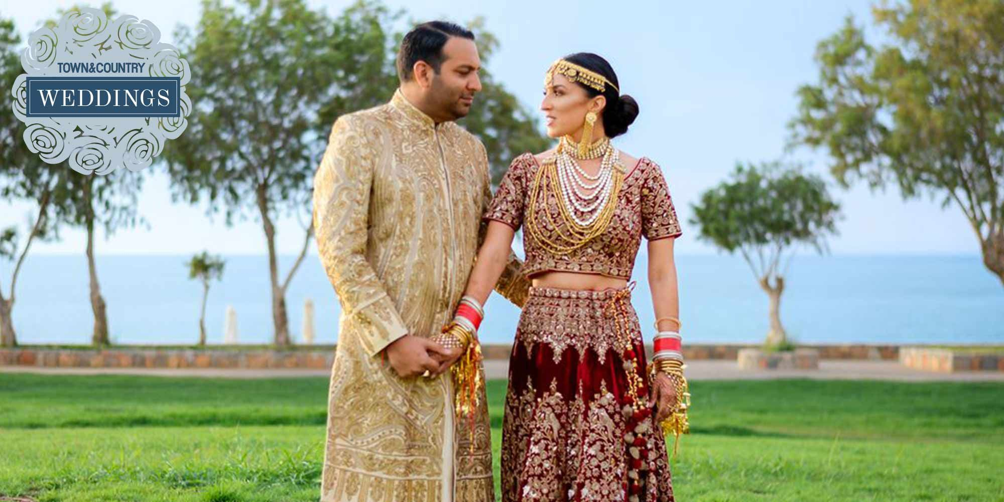 Destination Vows An Indian Mexican Wedding In Greece Sets The