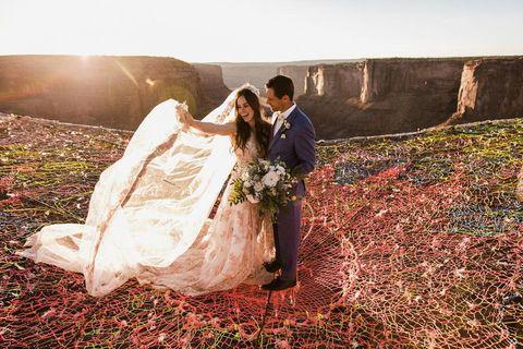 canyon wedding