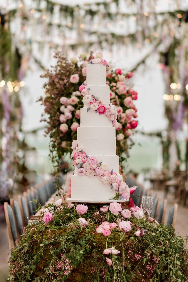 alex drummond and maurico scott's wedding cake by amy cakes in oklahoma city