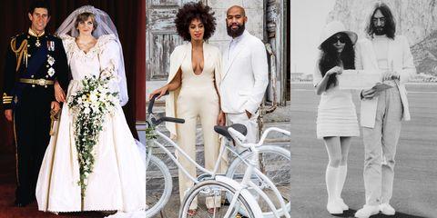 White, Fashion, Dress, Wedding dress, Gown, Vehicle, Bridal clothing, Photography, Fashion design, Recreation,