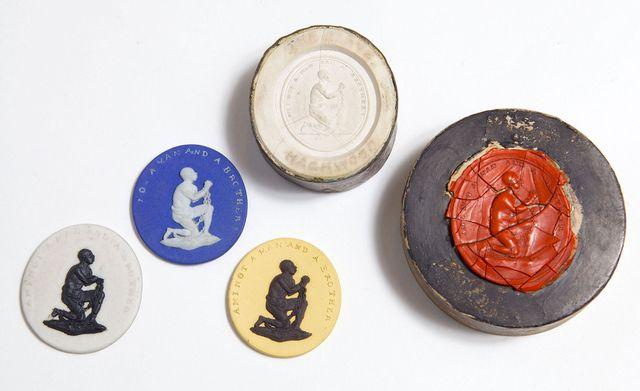 wedgwood anti slavery medallions