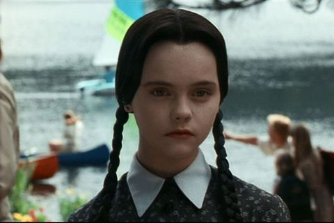 wednesday addams from the addams family here s what christina