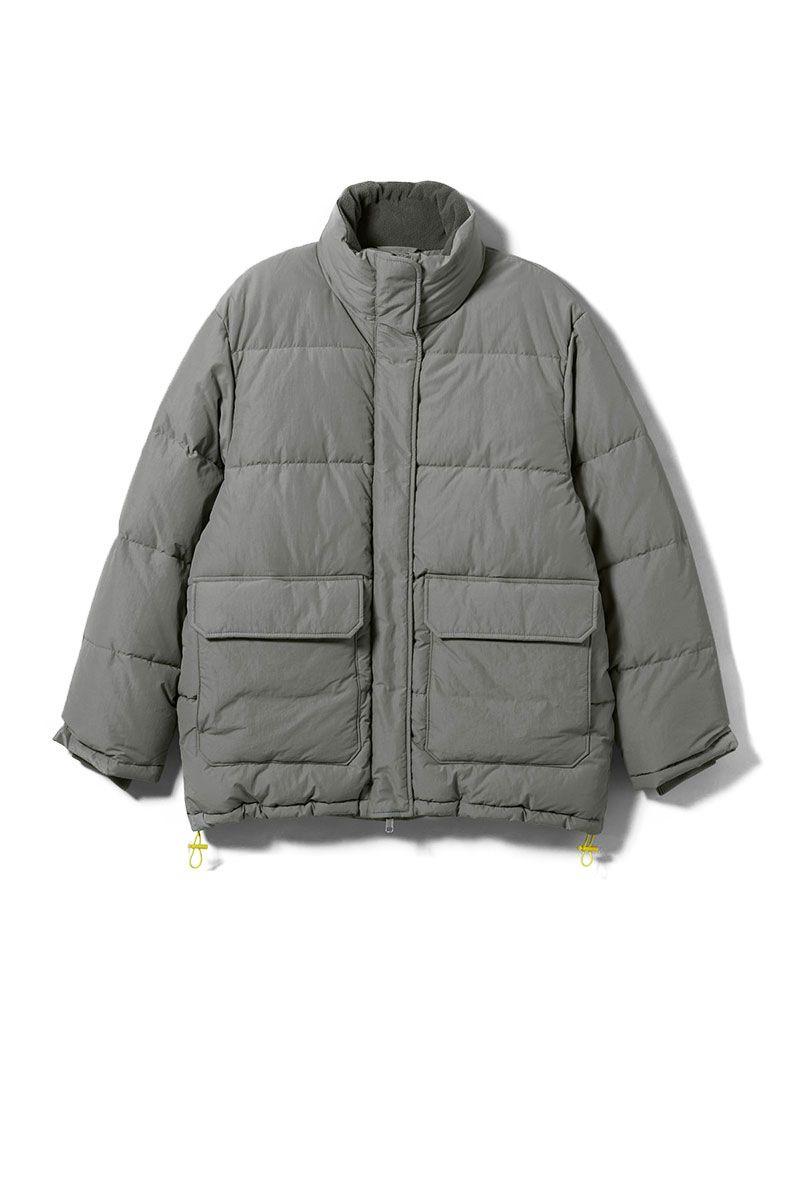 best puffer jackets 2018 - grey puffa coat