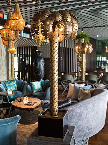 Interior design, Lighting, Lobby, Room, Restaurant, Furniture, Architecture, Building, Table, Hotel,