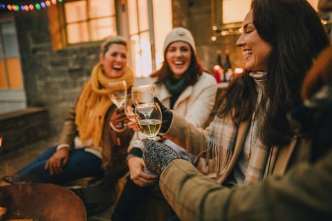 Low-calorie alcoholic drinks for Christmas