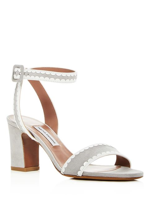 Footwear, Sandal, Shoe, Slingback, Beige, High heels, Strap,