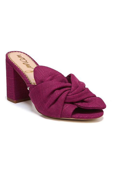 Footwear, Violet, Purple, Magenta, Shoe, Pink, Suede, Leather, Sandal, Court shoe,
