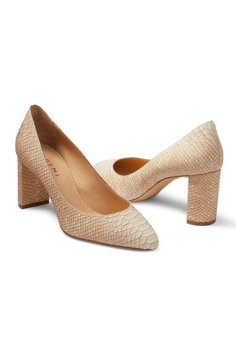 Footwear, High heels, Shoe, Court shoe, Tan, Beige, Basic pump,