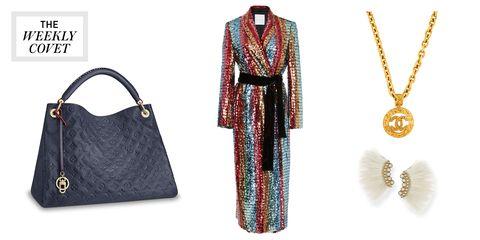 Clothing, Handbag, Bag, Fashion accessory, Dress, Pattern,